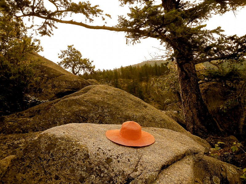 My Summer hat at Kalamalka lake.