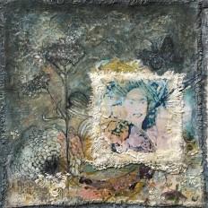 LE PAPILLON BLEU – THE BLUE BUTTERFLY WOMAN